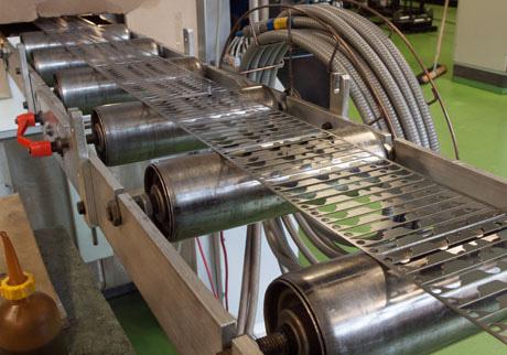 Fabrication de la semelle par étampage